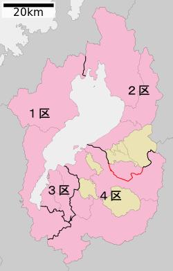 ウィキペディア「滋賀県第4区」より