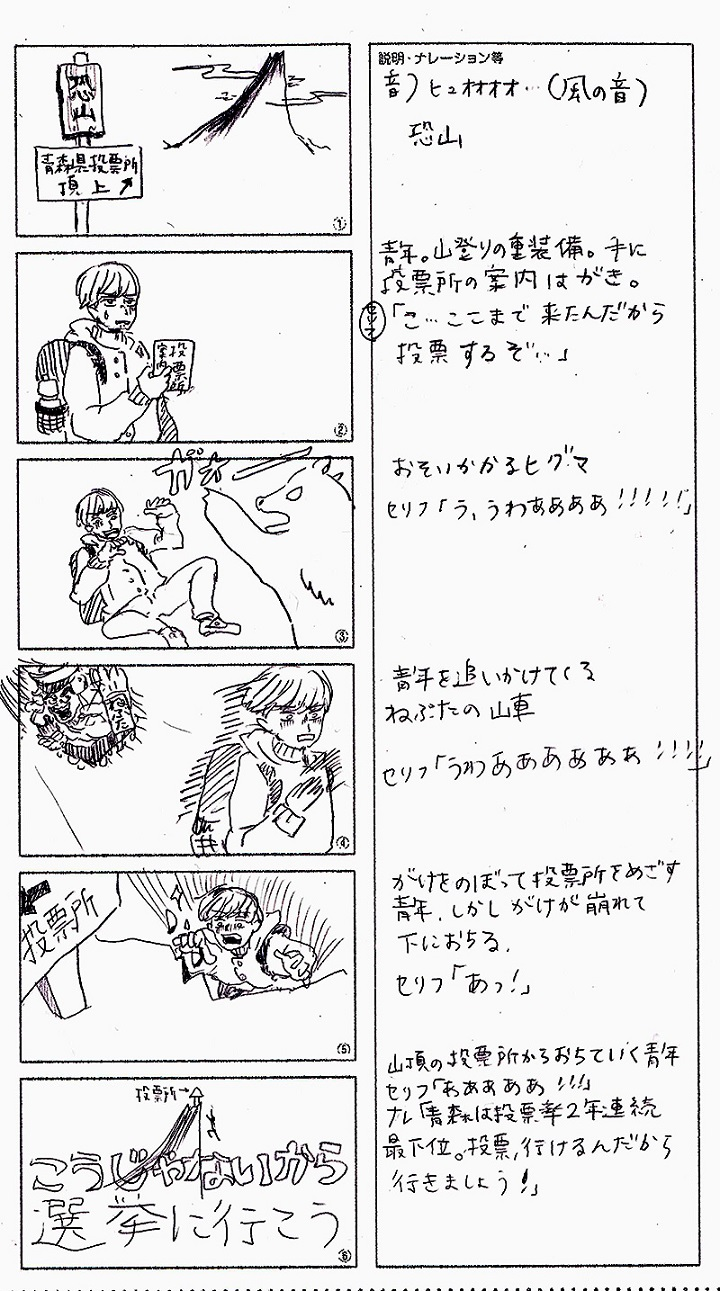 青森県の漫画