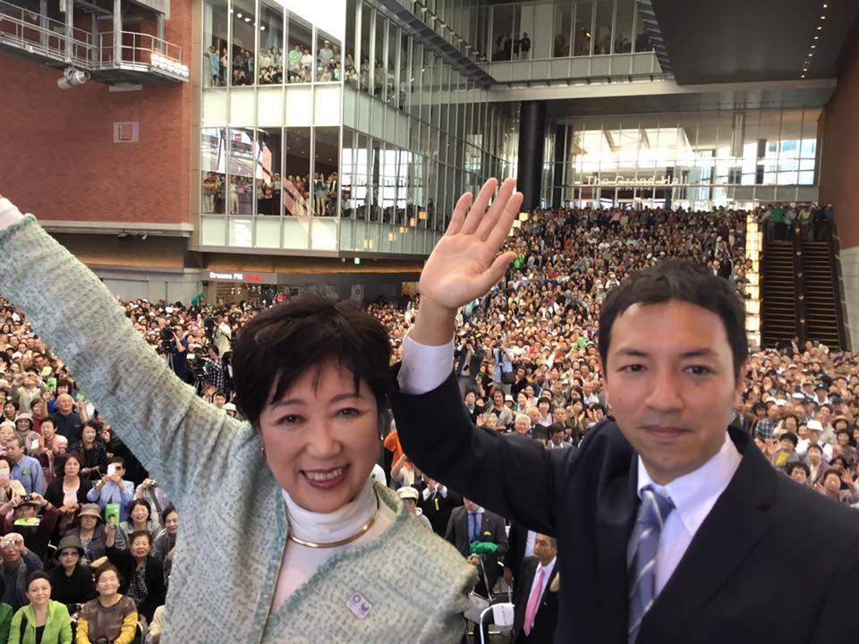 (鳩山二郎氏Facebookより)
