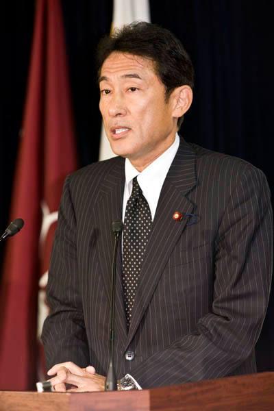 自民党の岸田政調会長(岸田氏公式HPより)
