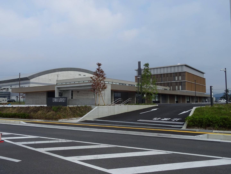 今年9月3日に町内の高台に移転・新築されたばかりの南三陸町役場