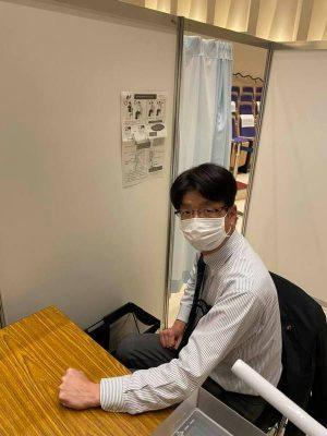 新型コロナ・ワクチン集団接種のシミュレーションの視察(大山しょうじ・横浜市議ブログ)